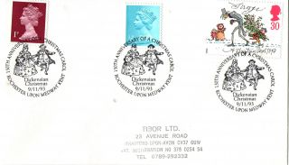 9 November 1993 Christmas Cover Rochester Upon Medway Kent Shs photo