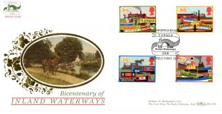 20 July 1993 Inland Waterway Benham Blcs 86 First Day Cover Stainforth & Keadey photo