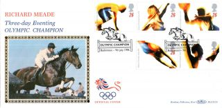 9 July 1996 Olympic Games Benham Blcs 118 Official First Day Cover Badminton Shs photo
