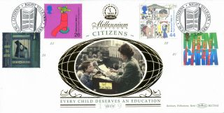 6 July 1999 Citizens Tale Benham Blcs 162 First Day Cover Lanark Shs photo
