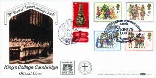 22 November 1978 Christmas Benham Bocs6 Carried Dual With Israel Fdc Shs photo