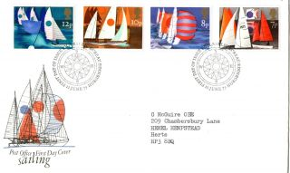 11 June 1975 Sailing Post Office First Day Cover Bureau Shs (a) photo