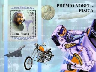 Guinea - Bissau - Albert Einstein,  Physics Stamp Souvenir Sheet Gb5303b photo