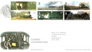 13 January 2004 Classic Locomotives Royal Mail First Day Cover York Shs photo
