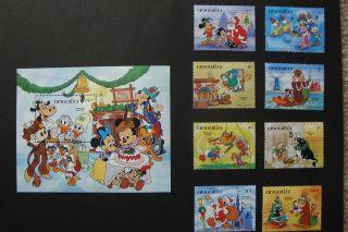 Disney - Christmas Worldwide - Souvenir Sheet photo