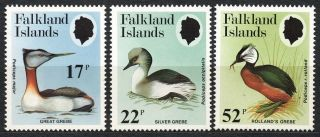 Falkland Islands 1984 - Great Grebe,  Birds photo