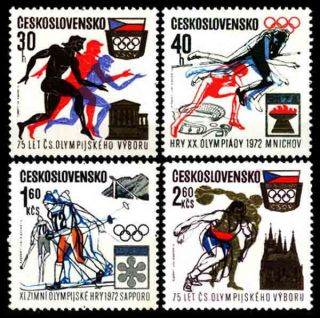 12599 Czechoslovaki​a 1971 Olympic Games photo