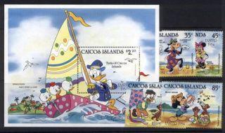 Caicos Islands 42 - 6 Disney,  Easter,  Sailing,  Shells,  Donald Duck photo