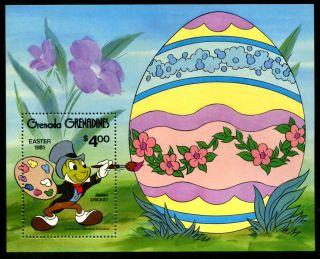 Grenada Grenadines 430 - 434, ,  Disney Characters,  Easter,  1981.  X10294 photo