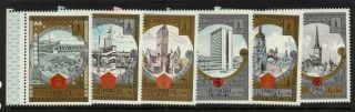 Ussr B131 - 6 - Architecture,  Olympic Sports photo