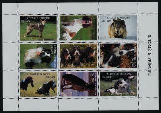 St Thomas & Principe 1207 Dogs photo