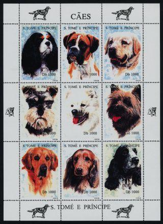St Thomas & Principe 1243 Dogs photo