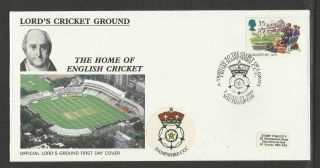 Gb 1994 Summertime Lord ' S Cricket Ground Fdc Hampshire Pictorial Postmark photo