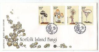 Norfolk Island,  Flora,  Mushrooms,  Fdc 1983 photo