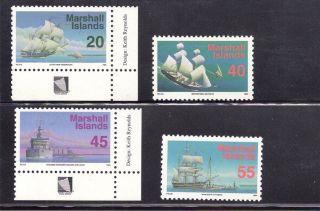 Marshall Islands 1993 Ships Scott 445//457 photo