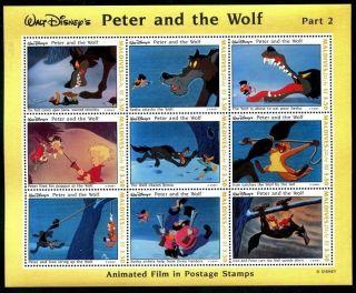 Maldive 1925 - 1928 Walt Disney Characters Peter & The Wolf Sonia Ivan 1993 X14510 photo