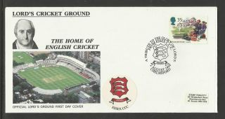Gb 1994 Summertime Lord ' S Cricket Ground Fdc Essex Pictorial Postmark photo