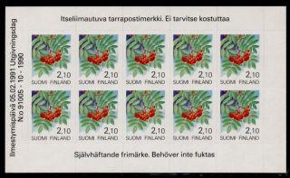 Finland 837 Booklet Rowan Berries photo