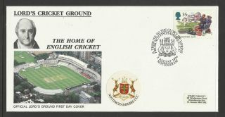 Gb 1994 Summertime Lord ' S Cricket Ground Fdc Nottinghamshire Pictorial Postmark photo