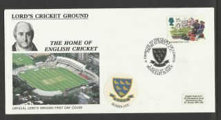 Gb 1994 Summertime Lord ' S Cricket Ground Fdc Sussex Pictorial Postmark photo