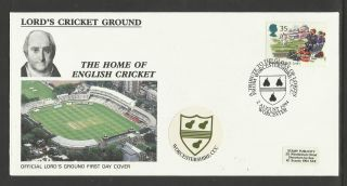 Gb 1994 Summertime Lord ' S Cricket Ground Fdc Worcestershire Pictorial Postmark photo
