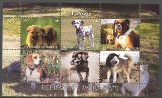 2012 Dogs Ii Sheet Of 6 Mdc2154 photo