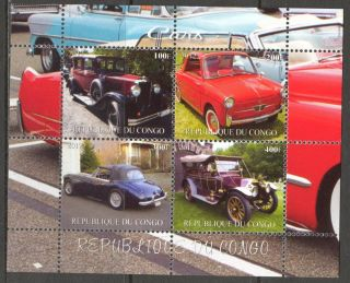 2012 Old Cars Iv Sheet Of 4 Mdc2105 photo