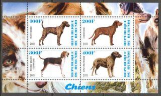 2011 Dogs Ii Sheet Of 4 Cb141 photo