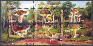 2012 Mushrooms Iii Sheet Of 6 Cinderella (c1) - photo