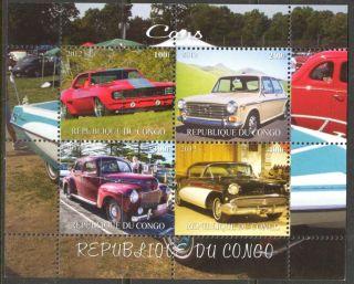 2012 Old Cars V Sheet Of 4 Mdc2106 photo