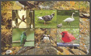 2011 Birds Xviii Pigeon Sheet Of 6 Mdbc1039 photo