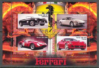 2013 Cars Ferrari I Sheet Of 4 6t 201 photo