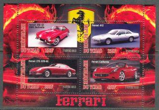 2013 Cars Ferrari Ii Sheet Of 4 6t 202 photo