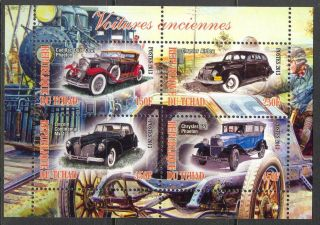 2013 Classic Cars I Cadillac Chrystler Lincoln Sheet Of 4 6t 203 photo