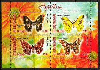 2013 Butterflies Iv Sheet Of 4 6t 215 photo