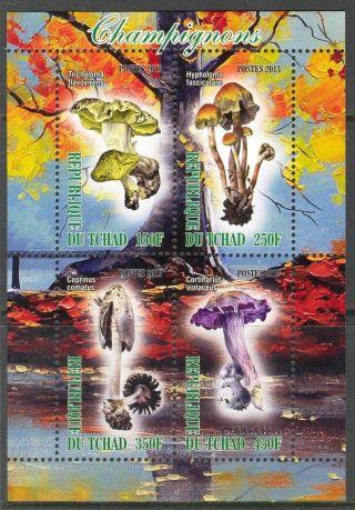 2013 Mushrooms Ii Sheet Of 4 6t 218 photo