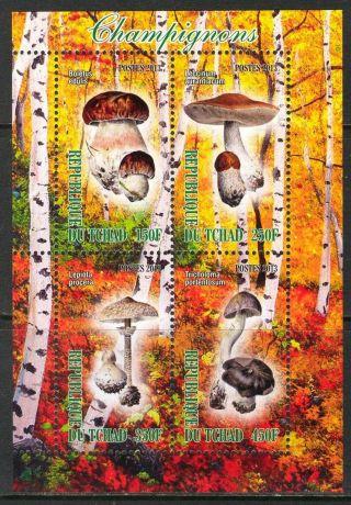 2013 Mushrooms Iii Sheet Of 4 6t 219 photo