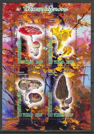 2013 Mushrooms Iv Sheet Of 4 6t 220 photo