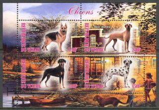 2013 Dogs Ii Sheet Of 4 6t 129 photo
