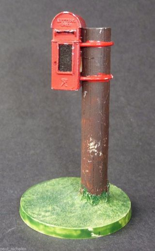 Promod Model Post Box Pob16 1898 Victorian Lamp Box Mounted On A Post photo