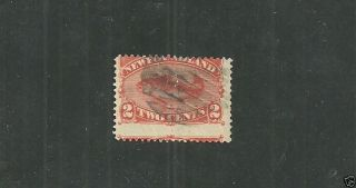 Newfoundland Stamp 48  From 1880 - 96. photo