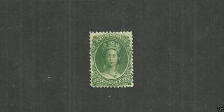 Nova Scotia Stamp 11  From 1860 - 63. photo