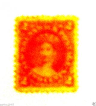 Canada,  Brunswick,  Stamp 7 2 Cent Queen Victoria 1863 - 66 photo