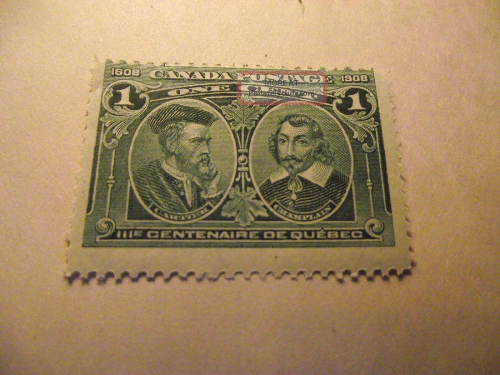 Canada Stamp Jacques Cartier Samuel De Champlain Scot97 A36 Cv25 00