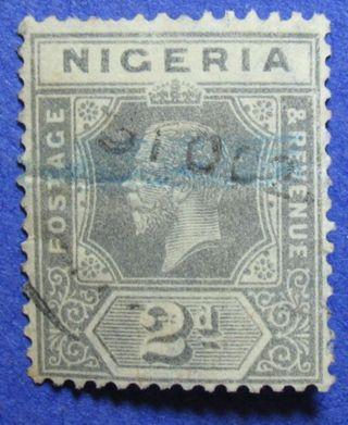 1921 Nigeria 2d Scott 21a S.  G.  18 Cs05953 photo