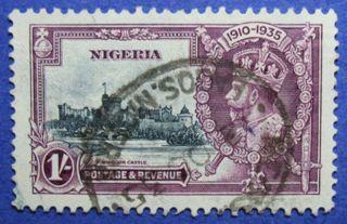 1935 Nigeria 1s Scott 37 S.  G.  33 Cs05958 photo