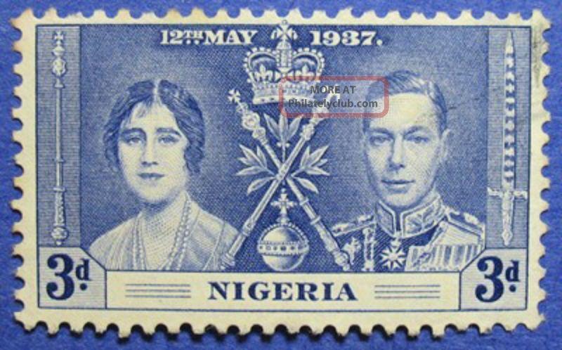 1937 Nigeria 3d Scott 52 S.  G.  48 Cs05967 British Colonies & Territories photo