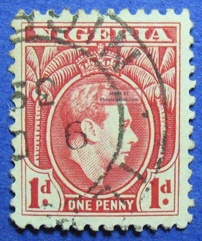 1938 Nigeria 1d Scott 54 S.  G.  50 Cs05968 British Colonies & Territories photo