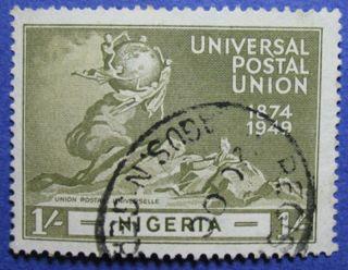 1949 Nigeria 1s Scott 78 S.  G.  67 Cs05985 photo