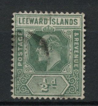 Leeward Islands 1907 - 11 Sg 37,  1/2d Kevii A61880 photo